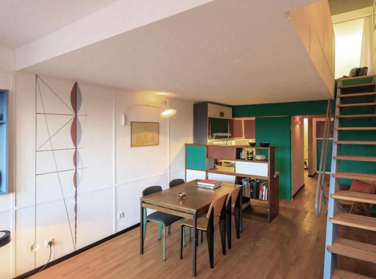 Корбюзианец в Берлине: цвет и архитектура в квартире Филиппа Мора