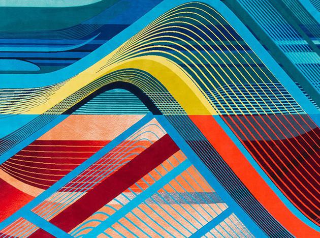 Zaha Hadid Design: ковры по мотивам архитектуры Захи Хадид