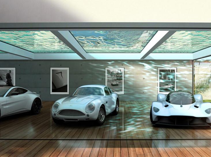 Дома и гаражи под брендом Aston Martin