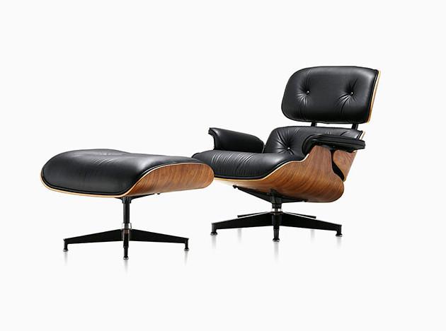 100 лет дизайна: Lounge Chair Чарльз и Рэй Имзов