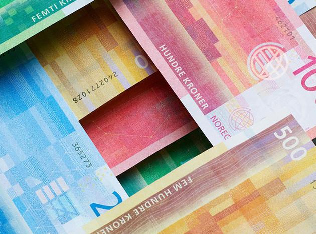 Архитекторы Snøhetta обновили дизайн норвежских денег