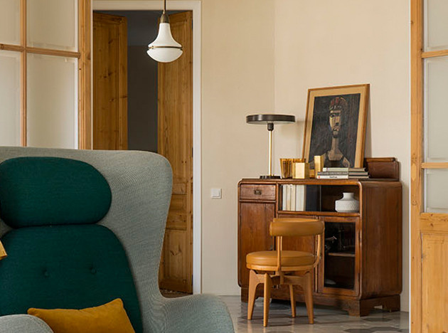 Пентхаус в Барселоне в доме эпохи Гауди