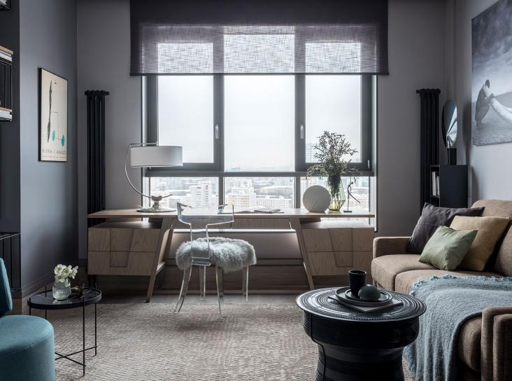 Ольга Тищенко: квартира 51 кв. метр в комплексе Филиппа Старка