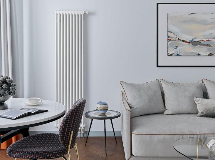 Makava Interiors: светлая квартира для мамы с сыном