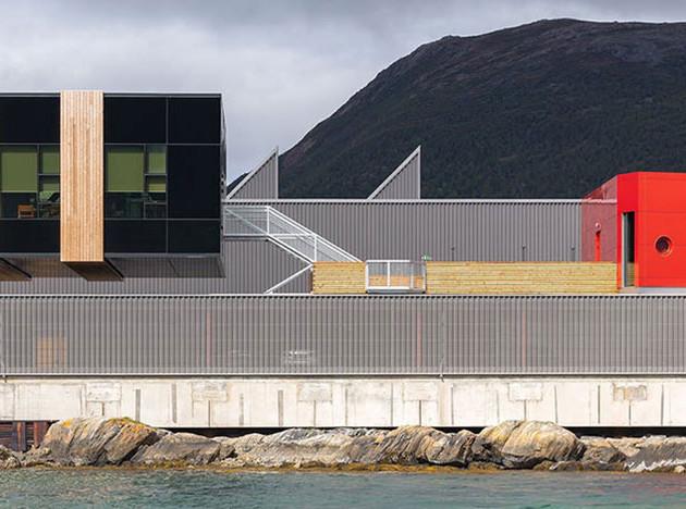 Snøhetta — рыболовам Норвегии