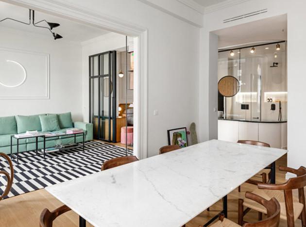 Urban Soul Project: «прозрачная» квартира в Салониках