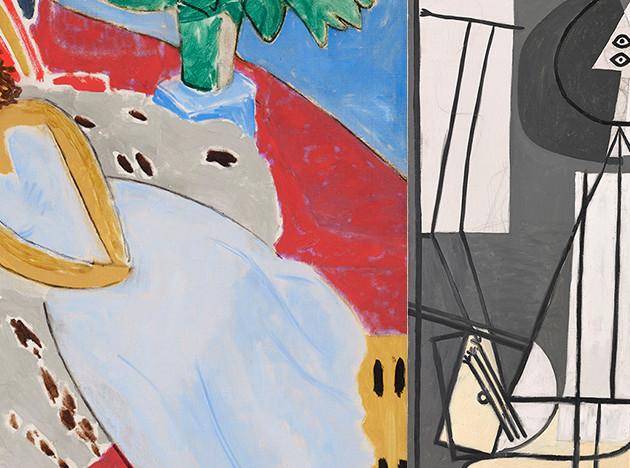 Пикассо и Матисс в Ницце