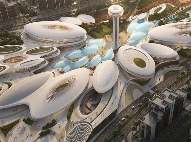 Zaha Hadid Architects: развлекательный комплекс в ОАЭ