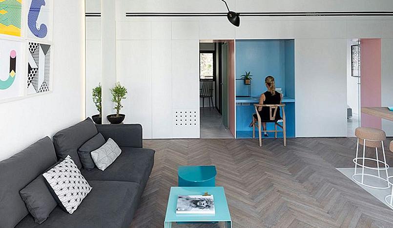 Маленькая трехкомнатная квартира в Тель-Авиве