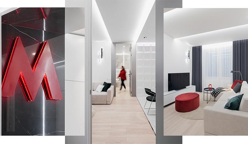 Проект ID Studio: необычная квартира с символом метро