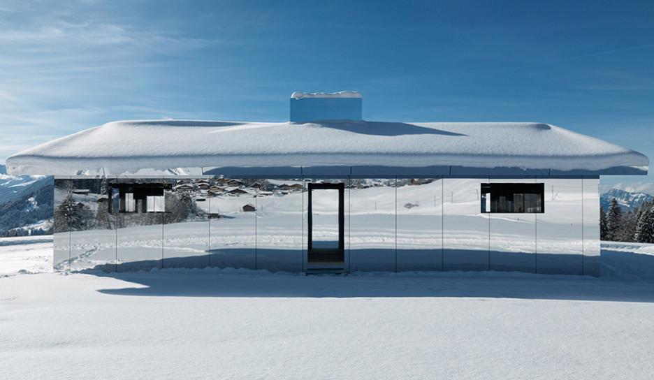 Дуг Эйткен: дом-мираж в Альпах