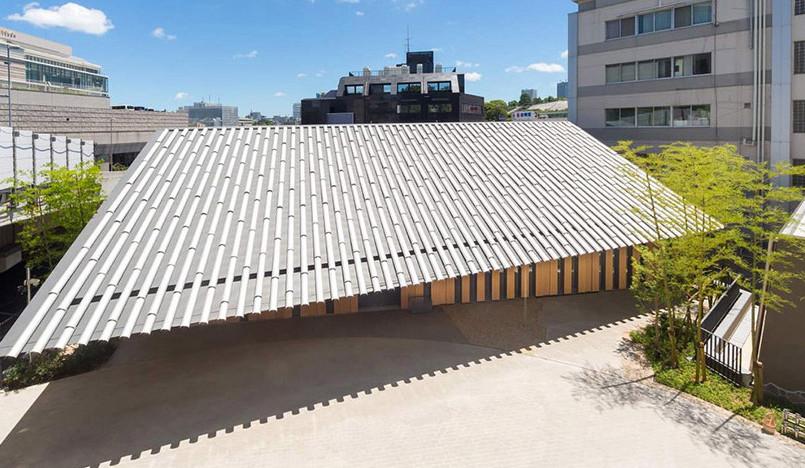 Кенго Кума создал новую храмовую постройку в Токио