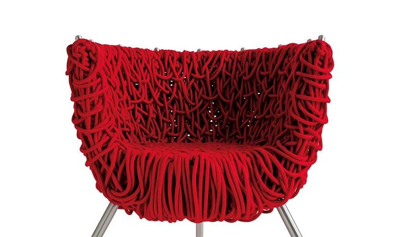 100 лет дизайна: кресло Vermelha братьев Кампана