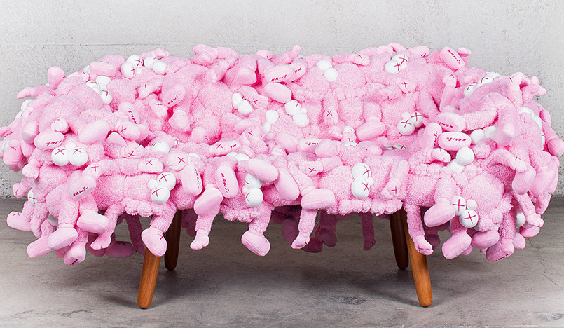 Мягкая мебель Kaws x Campana