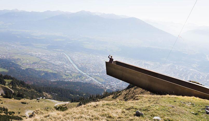 Snøhetta: туристический маршрут в австрийских Альпах