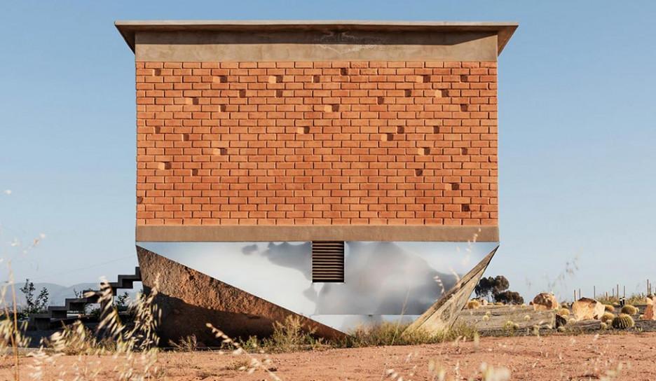 Santos Bolivar Architects: отель из экоблоков на острове Гуадалупе