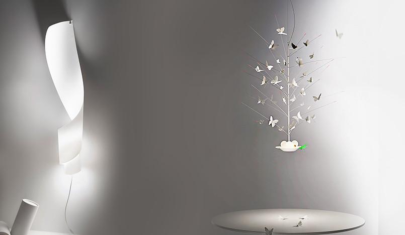 Инго Маурер: светильник из бумаги