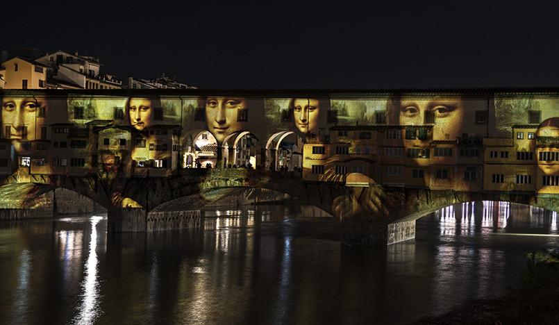 Фестиваль света F-Light во Флоренции