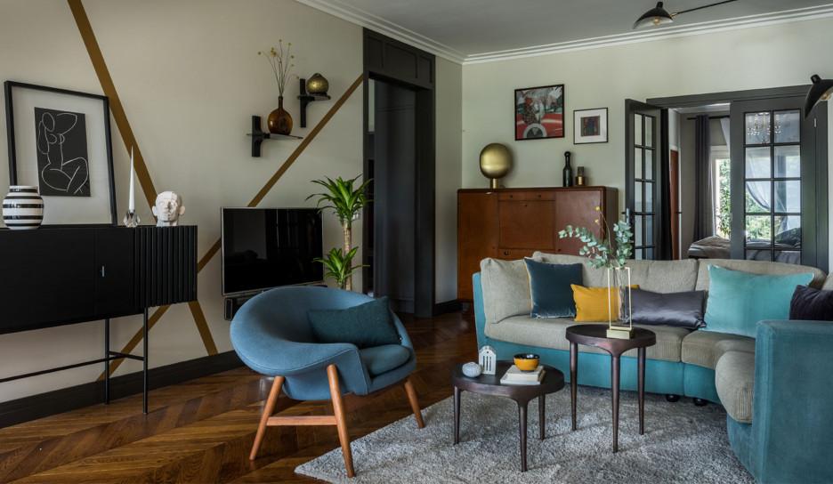 Квартира архитектора Анастасии Стенберг в Копенгагене
