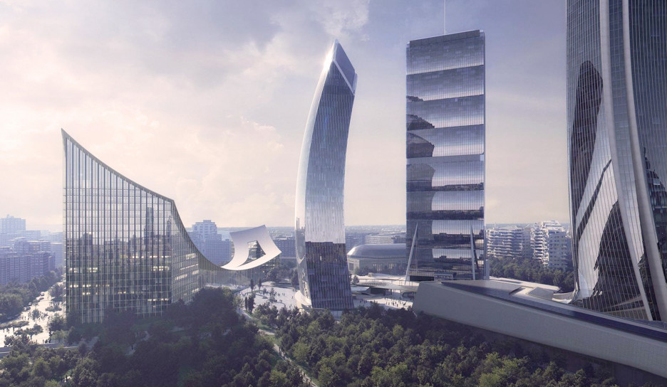 Бьярке Ингельс, BIG построит новый комплекс в Милане