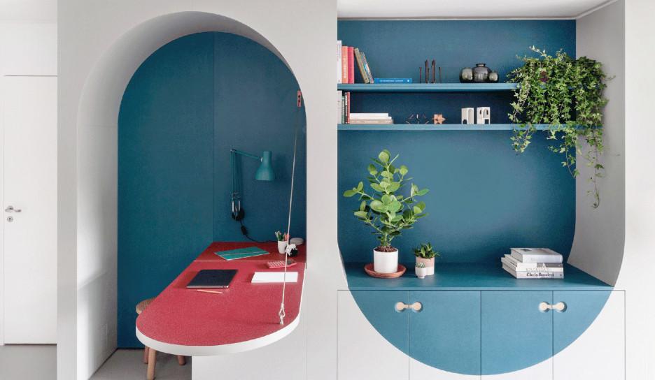Studio Ben Allen: маленькая квартира c детской