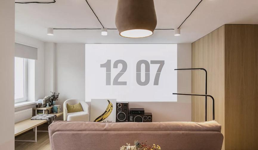 Zrobym architects: квартира 46 кв. метров в Минске