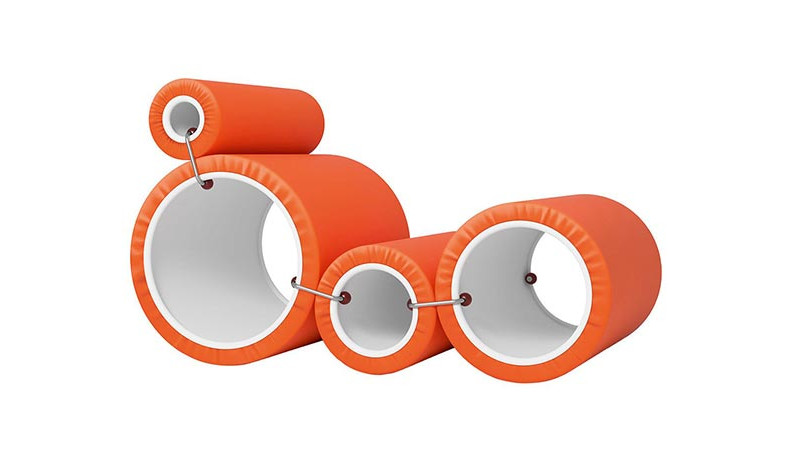 100 лет дизайна: Tube Chair Джо Коломбо