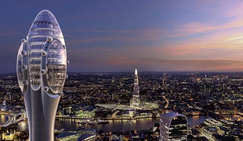 Норман Фостер хочет построить самую высокую башню в Лондоне