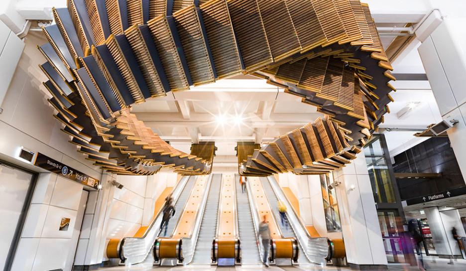 Эскалатор Криса Фокса в австралийской подземке
