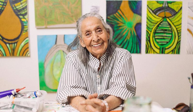 Лучита Уртадо: первая ретроспектива в 98 лет