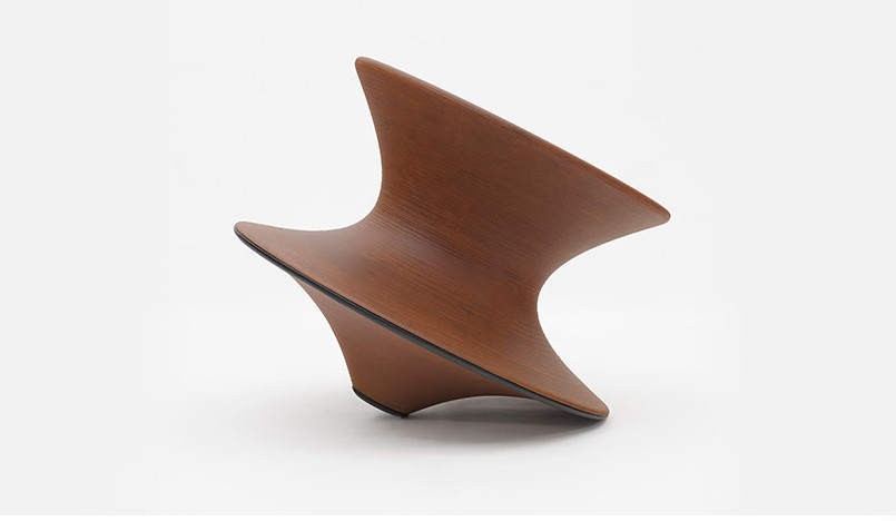 100 лет дизайна: кресло Spun Томаса Хизервика