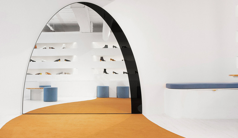 Обувной бутик Gray Matters по проекту студии Bower