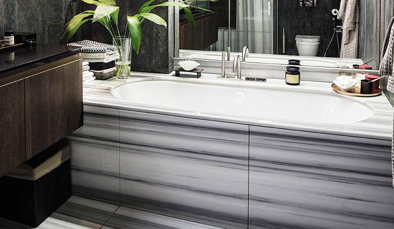 Материалы для ванной комнаты: рассказывают архитекторы