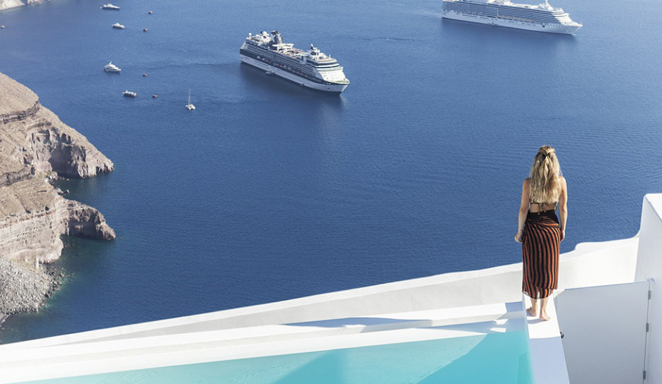 Kapsimalis Architects: летняя резиденция на Санторини