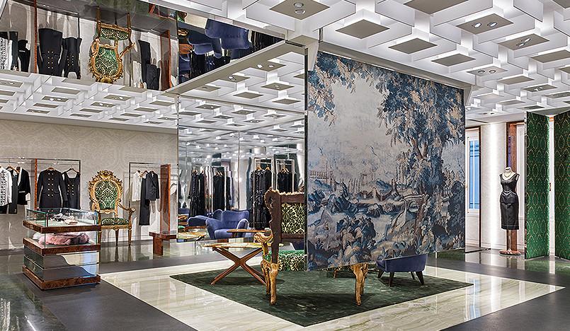 Бутик Dolce&Gabbana в Милане: эпоха роскошного ритейла