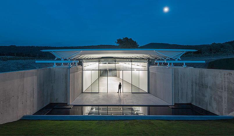 Ренцо Пьяно (Renzo Piano): фотоискусство в виноградниках