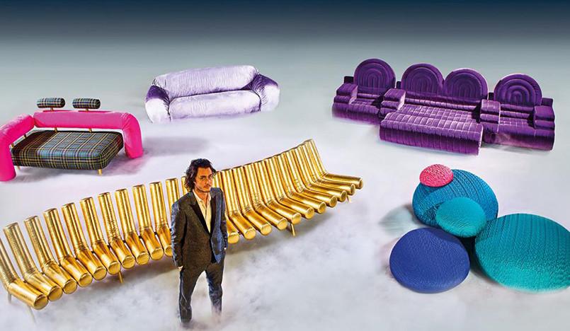 Disco Gufram: мебель для веселья