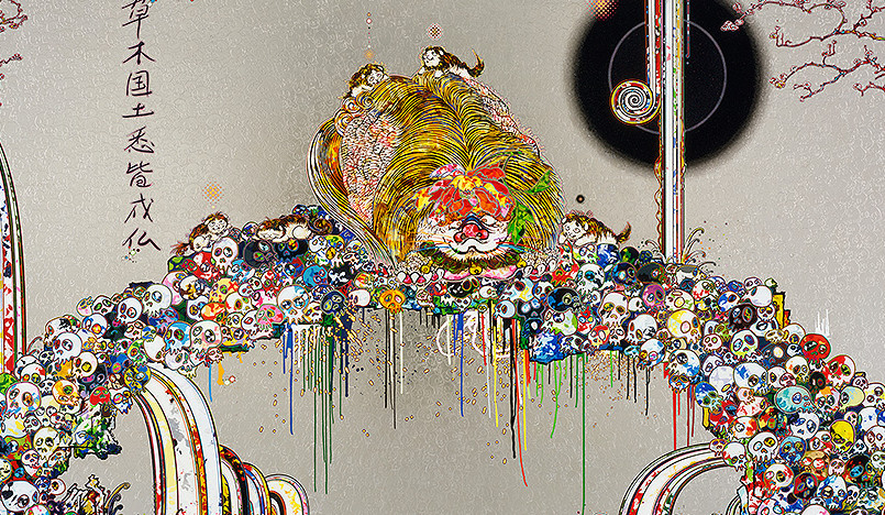 Такаси Мураками в музее «Гараж»