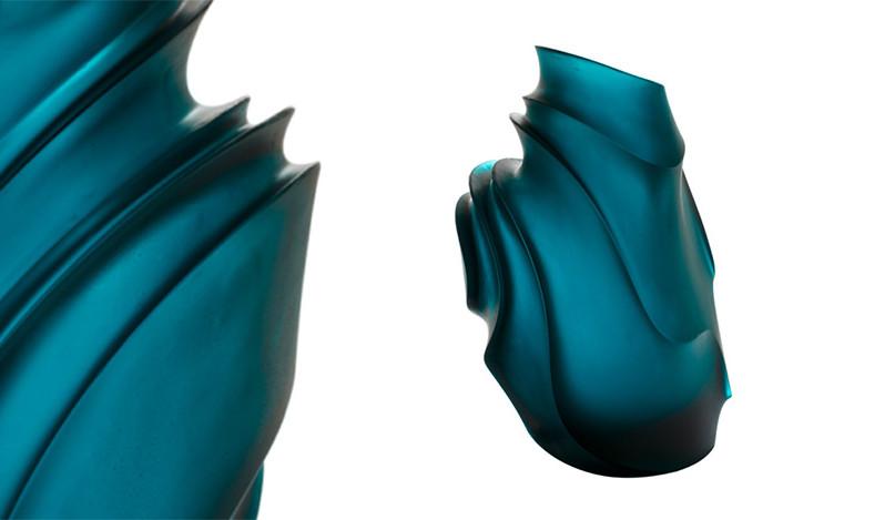 Кристиан Гийон для Daum: дюны из хрусталя