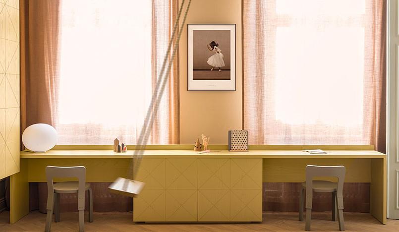 Шведская квартира в цветах прошлого от Note Design Studio