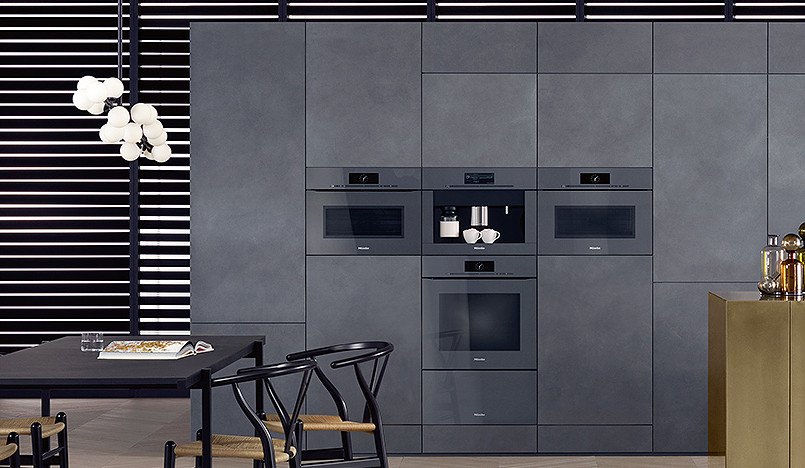 Miele: кухня-гостиная ArtLine