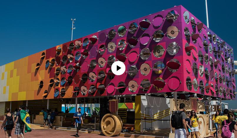 Танцевальный павильон в Рио-де-Жанейро от Estudio Guto Requena