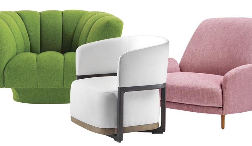 Модные кресла: четыре темы для гостиных