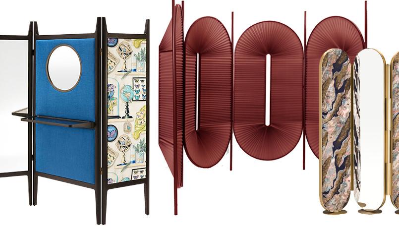 Ширмы: символ люкса и украшение богатого дома