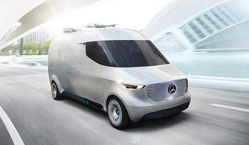 Mercedes Vision Van: революция в доставке товаров