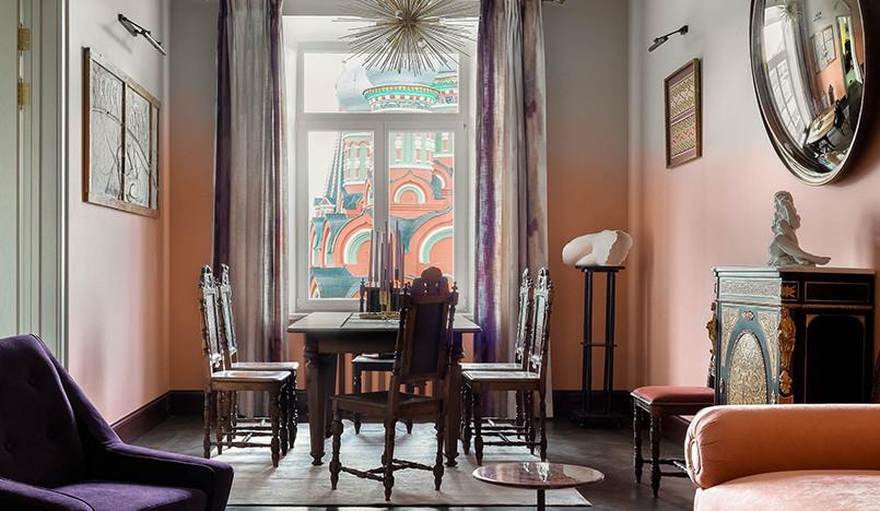 Екатерина Нечаева: московская квартира с градиентом