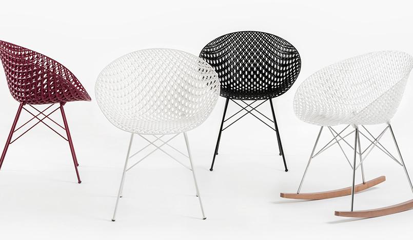 Токуджин Йошиока: стулья Matrix для Kartell