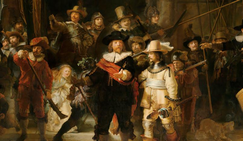 Реставрация Рембрандта в режиме онлайн