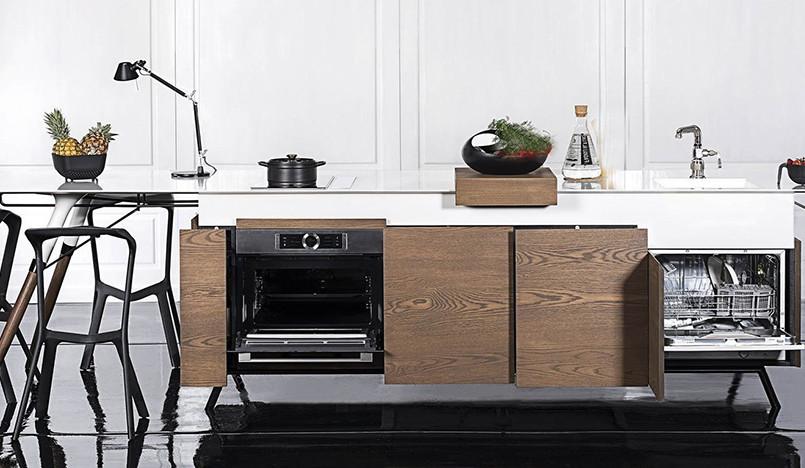 Кухня-гибрид Kitch'T от Dsignedby: и кухня, и столовая