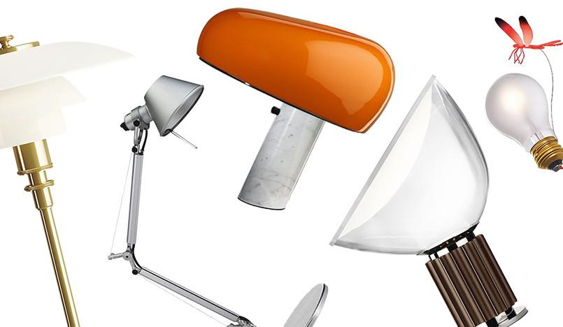 5 настольных ламп на все времена